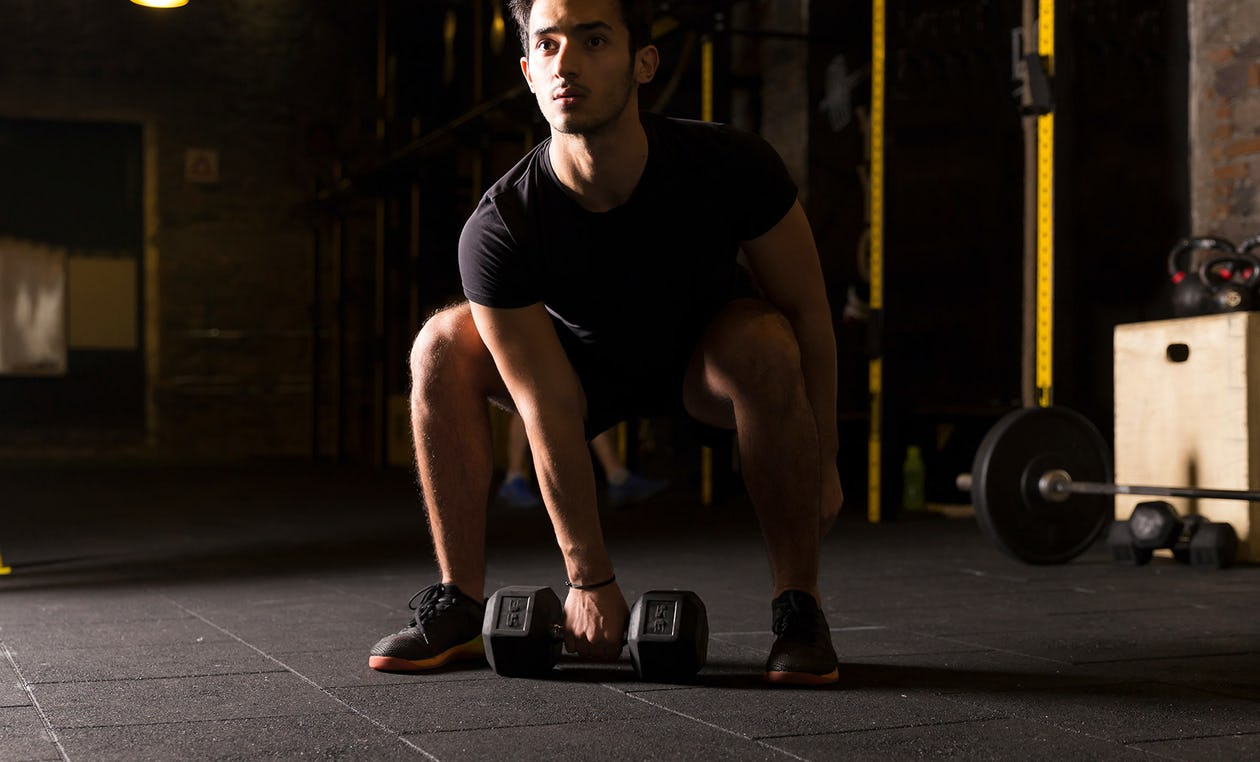 Dumbbell Muscle Snatch