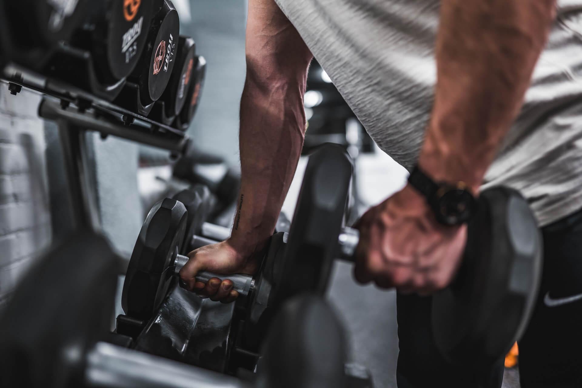 Erkek Dambıl Egzersiz