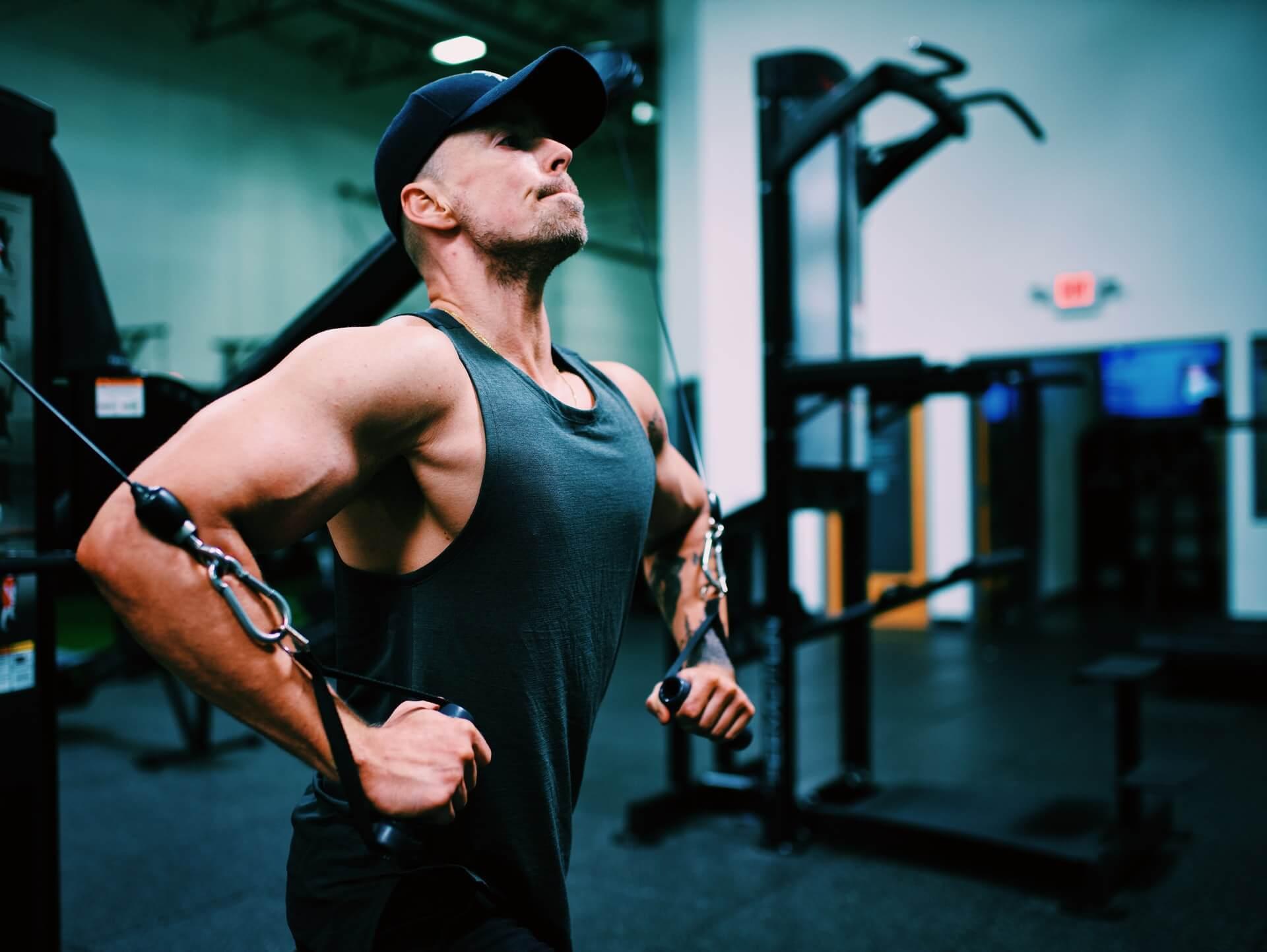 Erkek Göğüs Egzersiz